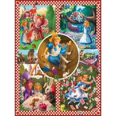 Puzzle  Sunsout-75280 Mark Brill - Alice in Wonderland