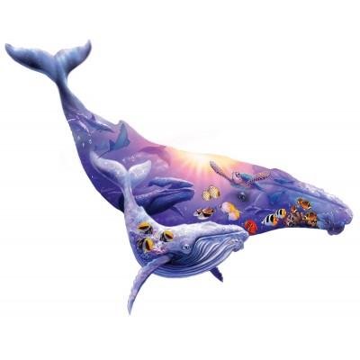Puzzle  Sunsout-90348 XXL Teile - Steve Sundram - Humpback Whale