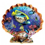 Puzzle  Sunsout-95355 Lori Schory - Souvenirs of the Sea