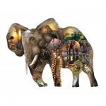 Puzzle  Sunsout-95769 XXL Teile - Elefant