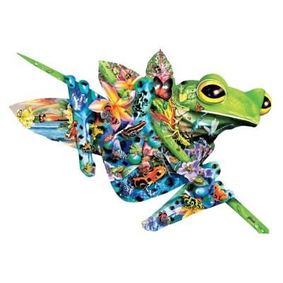 Puzzle  Sunsout-95780 Lori Schory - Paradise Frogs