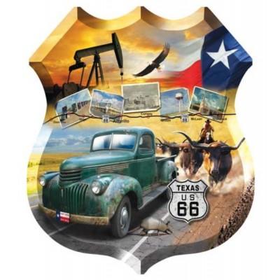 Puzzle  Sunsout-95895 Jim Todd - Texas 66