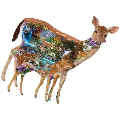 Puzzle  Sunsout-95966 XXL Teile - Alixandra Mullins - Mystical Forest