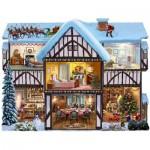 Puzzle  Sunsout-95971 Steve Crisp - Christmas Eve