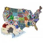 Puzzle  Sunsout-95992 Joseph Burgess - An American Quilt