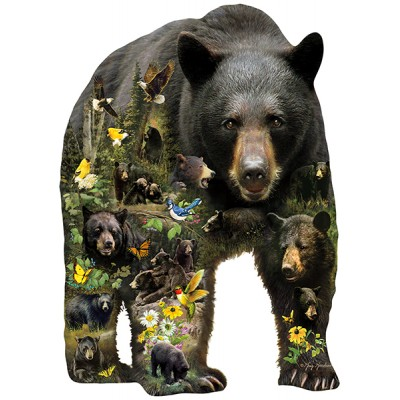 Puzzle Sunsout-96033 XXL Teile - Greg Giordano - Forest Bear