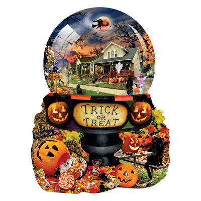 Puzzle Sunsout-96064 XXL Teile - Lori Schory - Halloween Globe