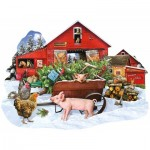 Puzzle  Sunsout-96066 Lori Schory - Cut Your Own Tree
