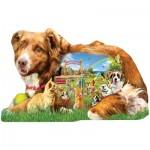 Puzzle  Sunsout-96074 XXL Teile - Lori Schory - Dog Park