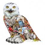 Puzzle  Sunsout-96076 Snowy Owl