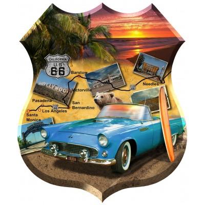 Puzzle  Sunsout-96112 Jim Todd - California 66