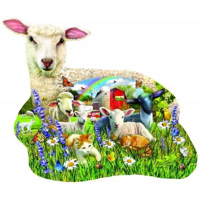 Puzzle  Sunsout-97041 XXL Teile - Lamb Shop