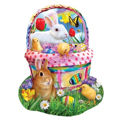 Puzzle Sunsout-97124 Lori Schory - Bunny's Easter Basket