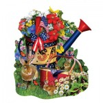 Puzzle  Sunsout-97146 Lori Schory - Summer Watering Can