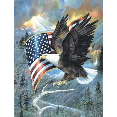 Puzzle  Sunsout-CL59012 XXL Teile - American Eagle