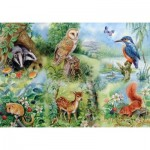 Puzzle  The-House-of-Puzzles-1424 XXL Teile - Nature Study