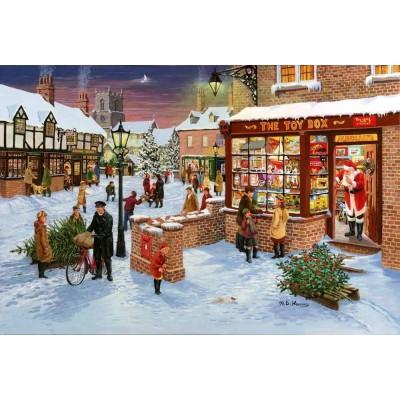 Puzzle  The-House-of-Puzzles-1455 Christmas Collectors Edition No.3 - Secret Santa