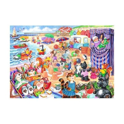 Puzzle The-House-of-Puzzles-1790 XXL Teile - At The Seaside