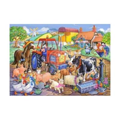 Puzzle The-House-of-Puzzles-1806 XXL Teile - Farm Friends
