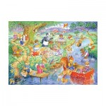 Puzzle  The-House-of-Puzzles-1844 XXL Teile - Picnic Time