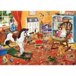 Puzzle  The-House-of-Puzzles-1936 XXL Teile - Toy Stories