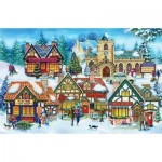 Puzzle  The-House-of-Puzzles-1943 XXL Teile - Village Life