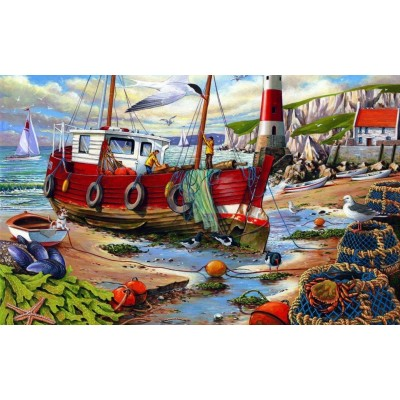 Puzzle  The-House-of-Puzzles-2421 XXL Teile - High & Dry