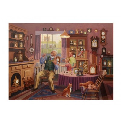 Puzzle The-House-of-Puzzles-2551 Grandfather Time
