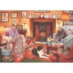 Puzzle  The-House-of-Puzzles-2902 Quiet Night In