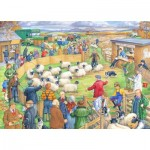 Puzzle  The-House-of-Puzzles-3039 XXL Teile - Sheep Sale