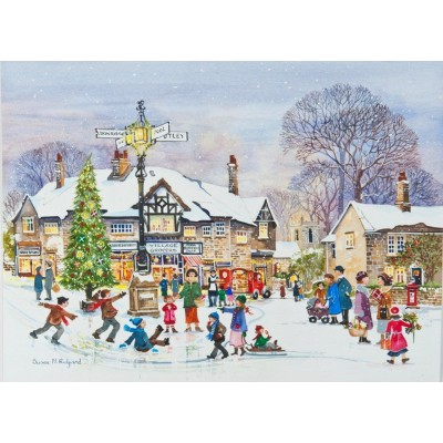 Puzzle The-House-of-Puzzles-3060 XXL Teile - Winter Fun
