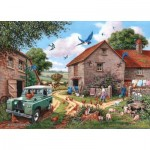 Puzzle  The-House-of-Puzzles-3084 XXL Teile - Farmers Wife