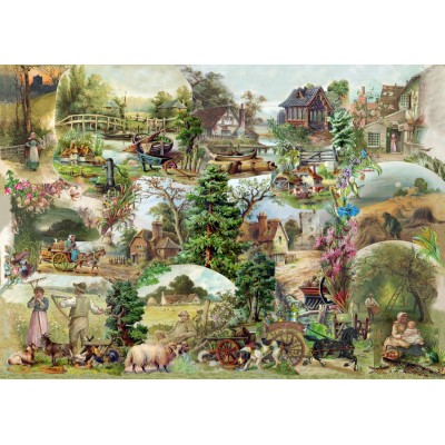 Puzzle  The-House-of-Puzzles-3107 XXL Teile - Pastoral