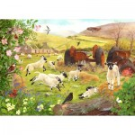 Puzzle  The-House-of-Puzzles-3145 XXL Teile - Woolly Jumpers