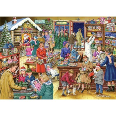 Puzzle  The-House-of-Puzzles-3169 Christmas Collectors Edition No.9 - Christmas Treats