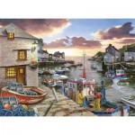 Puzzle  The-House-of-Puzzles-3428 XXL Teile - Harbour Lights