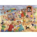 Puzzle  The-House-of-Puzzles-3459 XXL Teile - Trip To The Seaside
