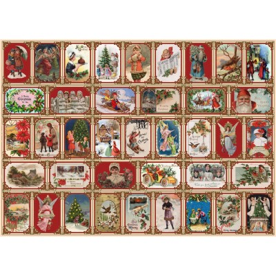 Puzzle  The-House-of-Puzzles-3657 Merry Christmas