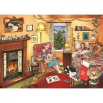 Puzzle  The-House-of-Puzzles-3817 Christmas Collectors Edition No.11 - A Story For Christmas