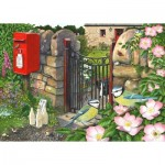 Puzzle  The-House-of-Puzzles-3909 XXL Teile - Morning Chat