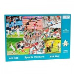 Puzzle  The-House-of-Puzzles-3916 XXL Teile - Sports Mixture