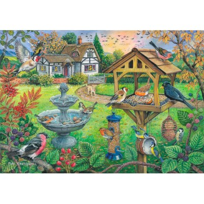 Puzzle  The-House-of-Puzzles-4333 XXL Teile - Bird Table