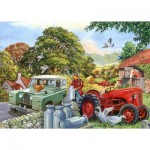 Puzzle  The-House-of-Puzzles-4340 XXL Teile - Bob & His Dog