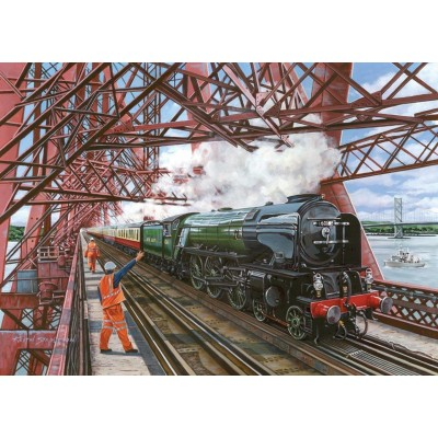 Puzzle  The-House-of-Puzzles-4357 XXL Teile - Crossing The Forth