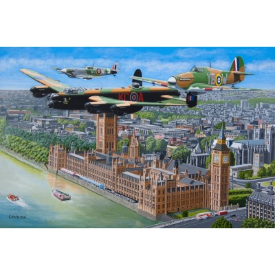 Puzzle The-House-of-Puzzles-4418 Fly Past