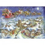 Puzzle  The-House-of-Puzzles-4487 Christmas Collectors Edition No.13 - Christmas Eve