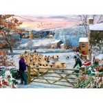 Puzzle  The-House-of-Puzzles-4531 XXL Teile - Herding The Flock