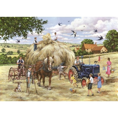 Puzzle  The-House-of-Puzzles-4548 XXL Teile - Making Hay