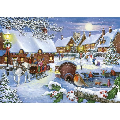 Puzzle  The-House-of-Puzzles-4708 Sleigh Ride