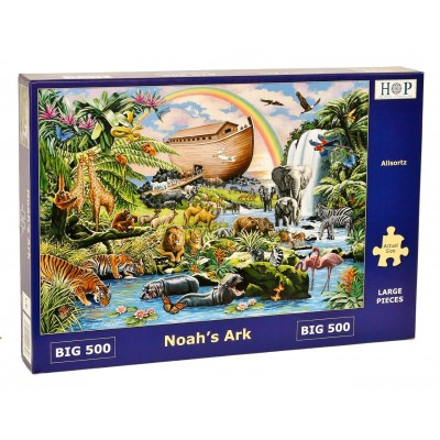 Puzzle  The-House-of-Puzzles-4753 XXL Teile - Noah's Ark